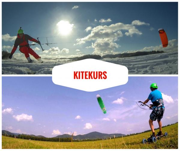 Die Kitekurse finden 1 zu 1 statt. Dadurch erlernt man sicher und schnell das Snowkiten, Kitelandboarden und Kitesurfing.