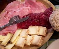 Leckeres Essen bei der Kitereise mit Snowkite Odenwald und Ozonekites