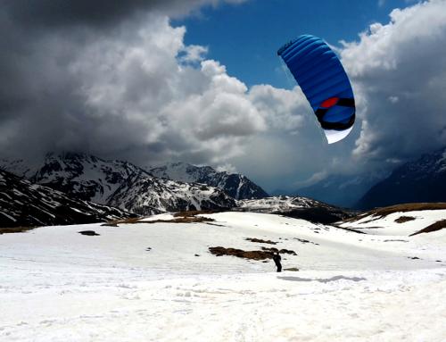 Backcountry Snowkiting Monte Spluga 2018