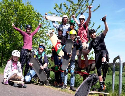 Longboard fun am Vogelsberg 2018