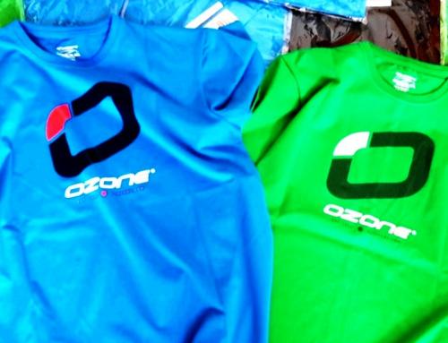 Frische Shirts von Ozonekites in frischen Farben