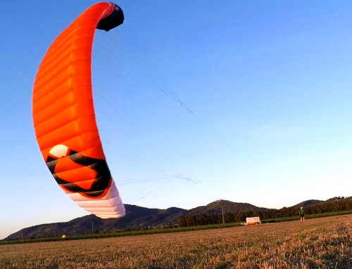Hyperlink V1 von Ozonekites für Kitesurfing, Snowkiting & Kitelandboarding
