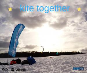 Snowkitetestival im Odenwald mit den Snowkites von Ozonekites und Flysurferkiteboarding. Ihr könnt die Kites Peak4, Soul, SubzeroV1, Explorev1 und viel mehr testen.