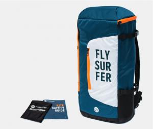 auf dem Bild sieht man das Kitebag von Flysurfer für die Kites Snowkiten, Kitesurfen, Landkiten.