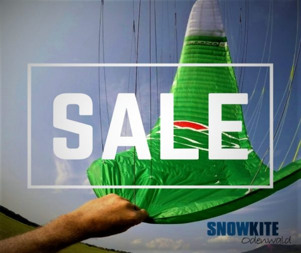 Abverkauf schlussverkauf sale bei snowkite odenwald von Ozeonekites wie den subzeroV1 und blizzardv1